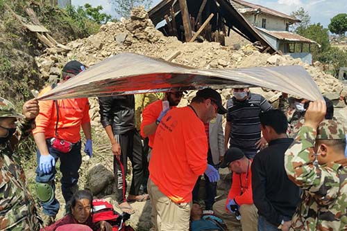 Zaka Search & Rescue Nepal Earthquake
